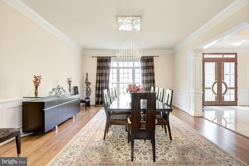 Great Formal Dining Room to Host Formal Dinners - 11408 WOLFS LNDG, FAIRFAX STATION