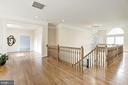 Wide open spaces on upper level - 11408 WOLFS LNDG, FAIRFAX STATION