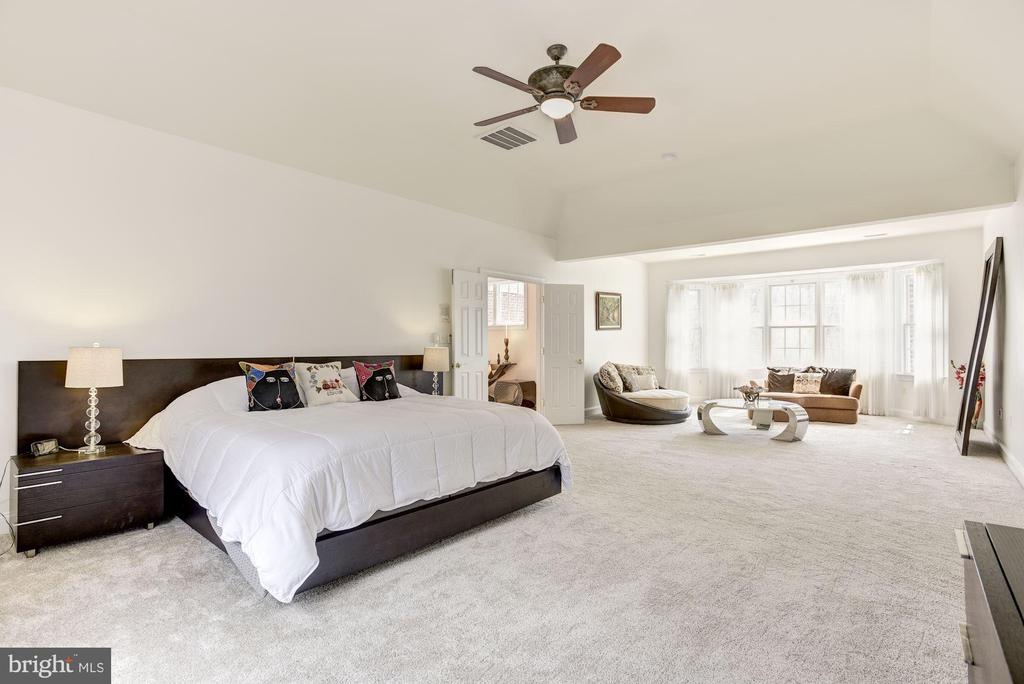 Spacious Master Suite  with  Huge Sitting Area - 11408 WOLFS LNDG, FAIRFAX STATION