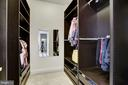 Custom Walk-in Closet 2 - 11408 WOLFS LNDG, FAIRFAX STATION