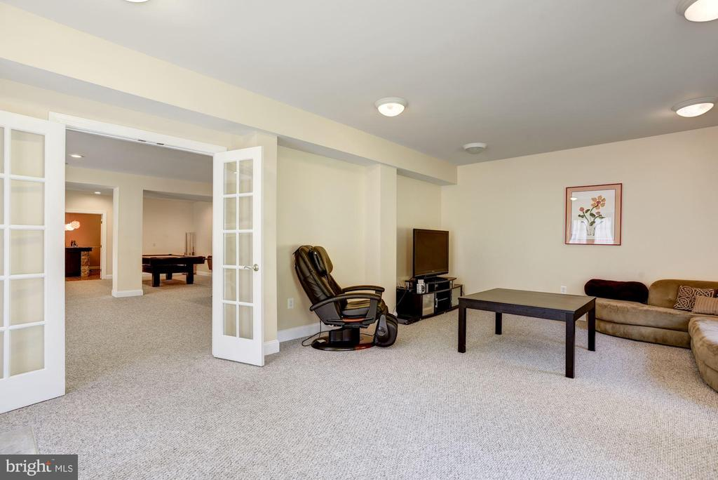 Separate Family Room |  Video Gaming Room/Den - 11408 WOLFS LNDG, FAIRFAX STATION