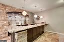 Luxurious Wet Bar - 11408 WOLFS LNDG, FAIRFAX STATION