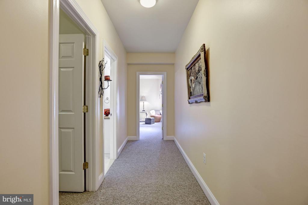 Hallway to a Huge Guest Room - 11408 WOLFS LNDG, FAIRFAX STATION