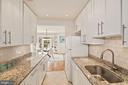 Kitchen w/ granite counters and shaker cabinets! - 3747 KANAWHA ST NW, WASHINGTON