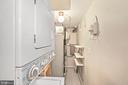 Laundry/Util closet on 3rd level! - 3747 KANAWHA ST NW, WASHINGTON