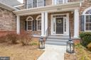 Great front porch to meet your guests and family - 7911 MADISON PLANTATION WAY, FREDERICKSBURG