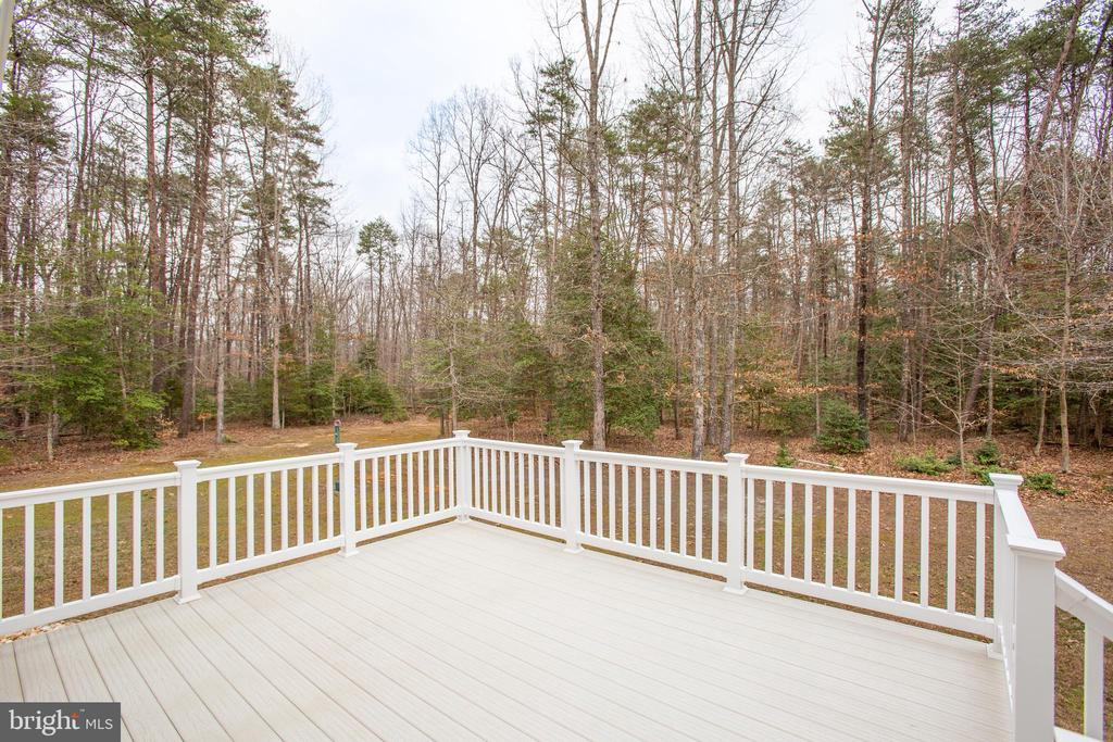 Enjoy  the view with your coffee in the morning - 7911 MADISON PLANTATION WAY, FREDERICKSBURG