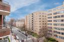 2nd balcony access from master bedroom - 1401 17TH ST NW #604, WASHINGTON