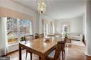 Beautiful Formal Dining Room - 45827 COLONNADE TER, STERLING