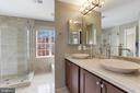 Luxurious Master Bathroom! - 45827 COLONNADE TER, STERLING