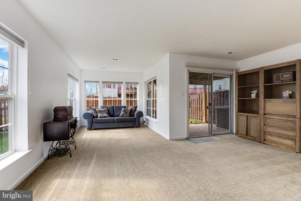 Spacious Lower Level Living Area - 45827 COLONNADE TER, STERLING