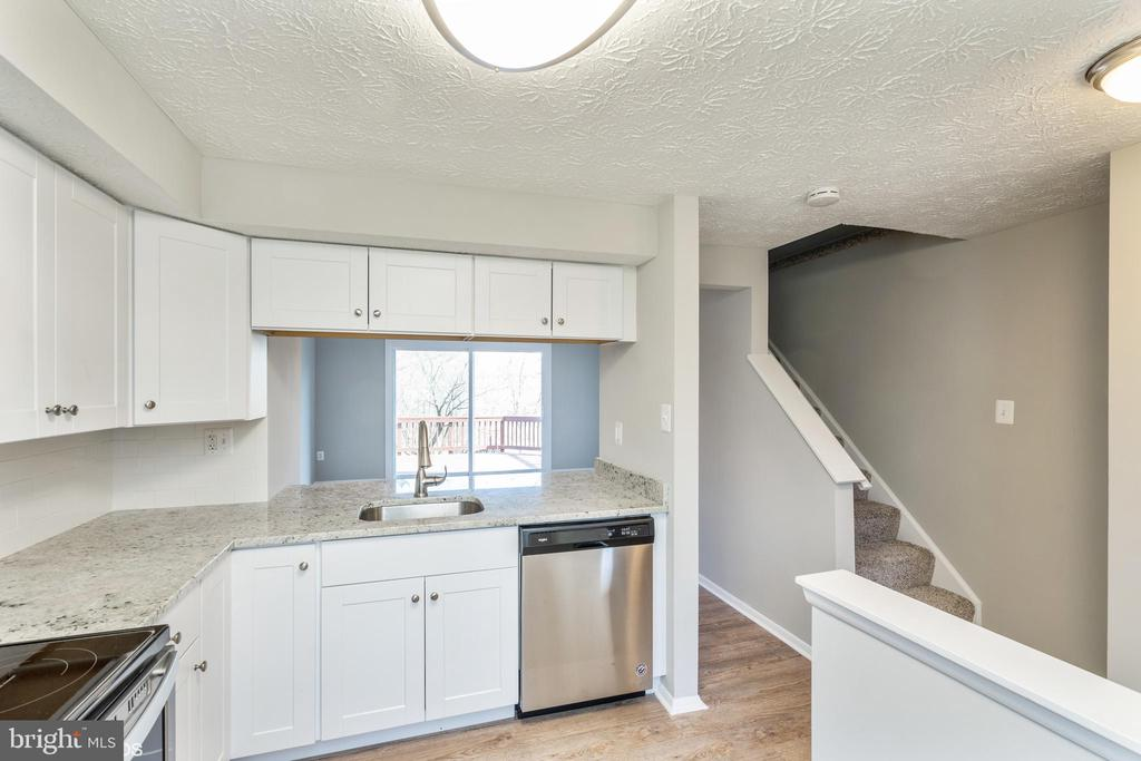 Kitchen includes new cabinets, new stainless steel - 3654 CASTLE TER #111-125, SILVER SPRING