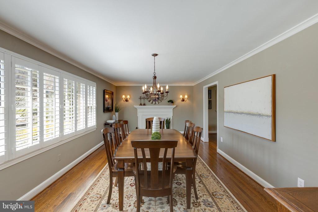 Original living room now used as formal dining - 4635 35TH ST N, ARLINGTON