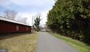 Barn at driveway entrance - 1318 LOCUST GROVE CHURCH RD, ORANGE
