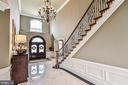 Elegant Light Fixtures, Railings and Moldings - 2555 VALE RIDGE CT, OAKTON
