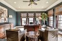 A handsome Main Level Study - 2555 VALE RIDGE CT, OAKTON