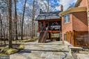 Exterior Rear patios and meandering walkways - 2555 VALE RIDGE CT, OAKTON