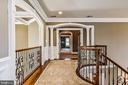 Upper Level Hall to Master Retreat - 2555 VALE RIDGE CT, OAKTON