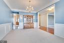 Formal Dining Room - 509 RUBENS CIR, MARTINSBURG