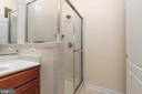 Master Bath with Shower - 42571 PELICAN DR, CHANTILLY