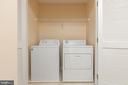Upstairs Laundry - 42571 PELICAN DR, CHANTILLY