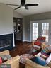 Sunroom looking back toward Fam Rm & Kitchen - 43773 FARMSTEAD DR, LEESBURG
