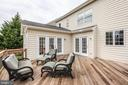 Brazilian IPE decking (see later pics w/ new stain - 43773 FARMSTEAD DR, LEESBURG