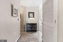Entry foyer - 1117 10TH ST NW #W10, WASHINGTON
