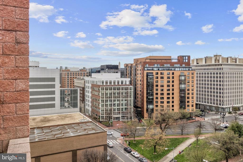 Views of Washington Monument - SSW - 1117 10TH ST NW #W10, WASHINGTON