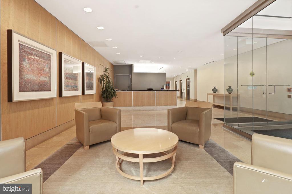 Main lobby entrance - 1117 10TH ST NW #W10, WASHINGTON