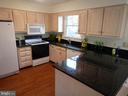 Kitchen with plenty of cabinet & counter space - 1510 BOYCE AVE, TOWSON