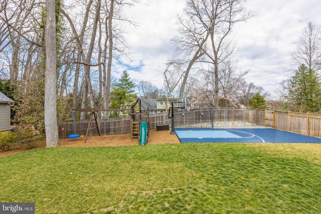 Back yard play area - 4635 35TH ST N, ARLINGTON