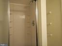 Shower in lower level bathroom - 1510 BOYCE AVE, TOWSON