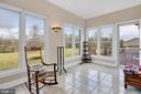 Beautiful Bright Sunroom - 39032 FRY FARM RD, LOVETTSVILLE