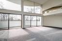 Living room - 5500 BROAD BRANCH RD NW, WASHINGTON