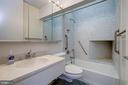 Full hall bathroom, entry level - 5500 BROAD BRANCH RD NW, WASHINGTON