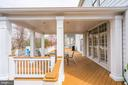 Back Porch Area - 18777 UPPER MEADOW DR, LEESBURG