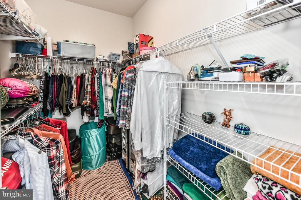 Spacious Master Closet - 23631 HAVELOCK WALK TER #415, BRAMBLETON