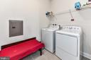 Laundry Room in Unit - 23631 HAVELOCK WALK TER #415, BRAMBLETON