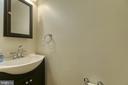 Powder room on main level - 102 NORTHAMPTON BLVD, STAFFORD