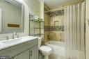 Additional full bath on upper level - 102 NORTHAMPTON BLVD, STAFFORD