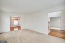 Living Room - 11617 DUCHESS DR, FREDERICKSBURG