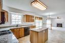 Kitchen with Granite Counters - 11617 DUCHESS DR, FREDERICKSBURG
