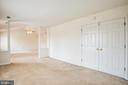 Master Bedroom with Sitting Area - 11617 DUCHESS DR, FREDERICKSBURG
