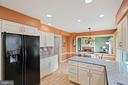 Renovated Kitchen - 201 STONELEDGE PL NE, LEESBURG