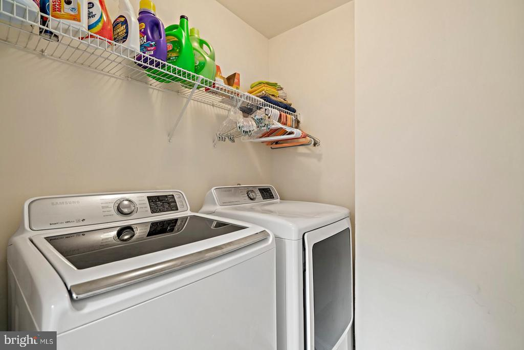 Laundry Room - Upper Level - 201 STONELEDGE PL NE, LEESBURG