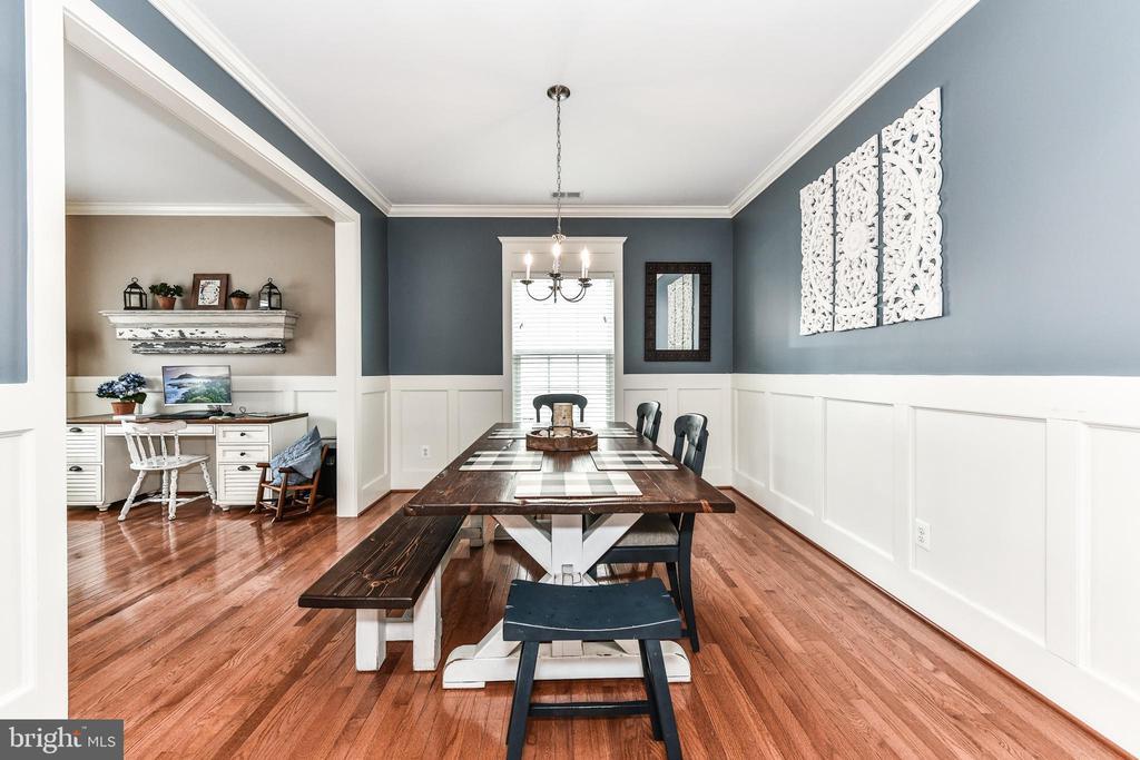 Spacious dining room! - 25974 KIMBERLY ROSE DR, CHANTILLY