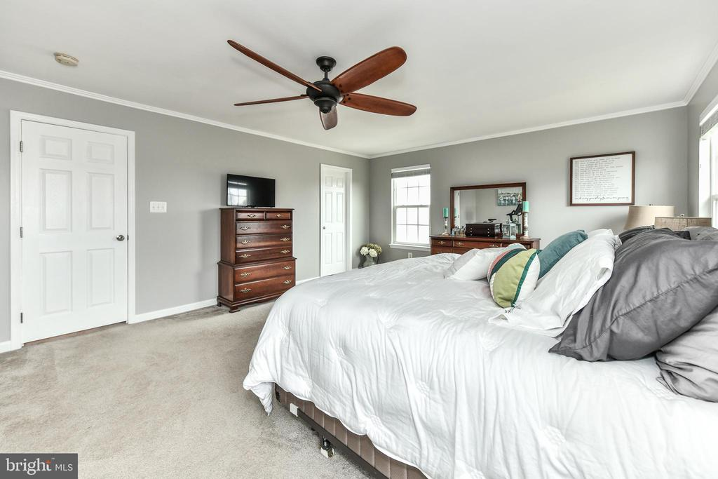 Huge Master bedroom with 2 walk-in closets! - 25974 KIMBERLY ROSE DR, CHANTILLY