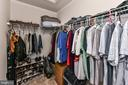 2nd of TWO walk-in closets! - 25974 KIMBERLY ROSE DR, CHANTILLY