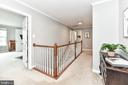 Upstairs landing - 4 bedrooms on top level! - 25974 KIMBERLY ROSE DR, CHANTILLY